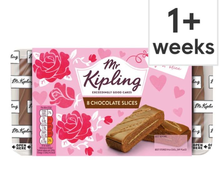 Mr Kipling Chocolate Slices *Half Price And An 8 Pack Too!!