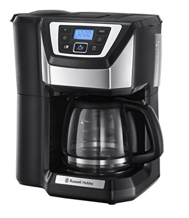 *SAVE £81* Russell Hobbs Chester Grind and Brew Coffee Machine 22000 - Black