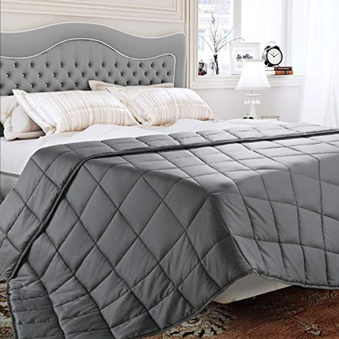 Save 50% on BedStory Weighted Blankets (Code Works on All Sizes)