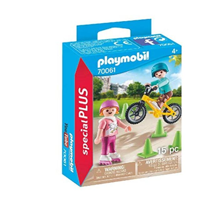 Playmobil 70061 Special plus Children with Bike and Skates