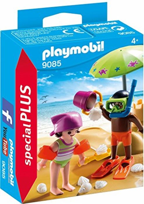 Playmobil 9085 Special plus Children at the Beach