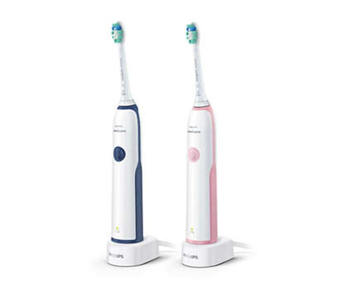 2 Pack Philips Sonicare DailyClean 2100 Electric Toothbrush