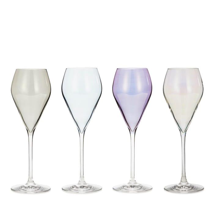 Julian Macdonald Set of 4 Prosecco Glasses, Half Price!