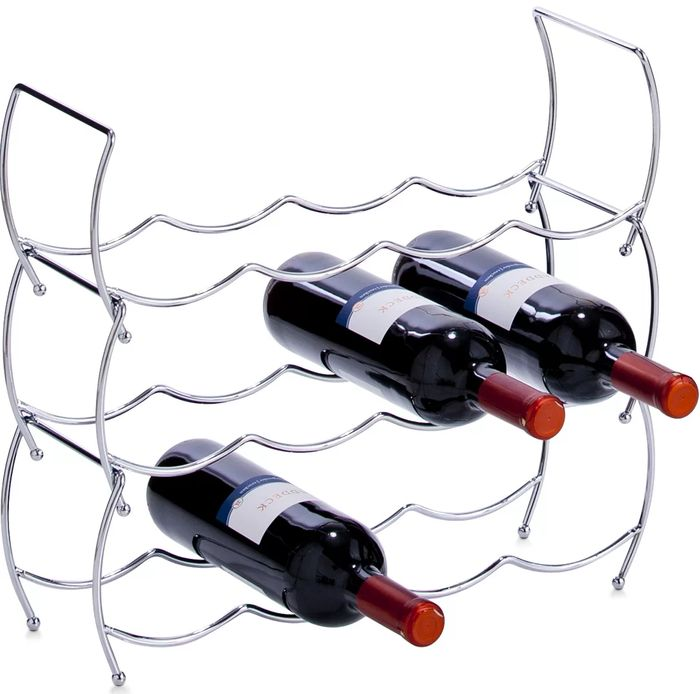 12 Bottle Wine Rack Set(Set of 3)