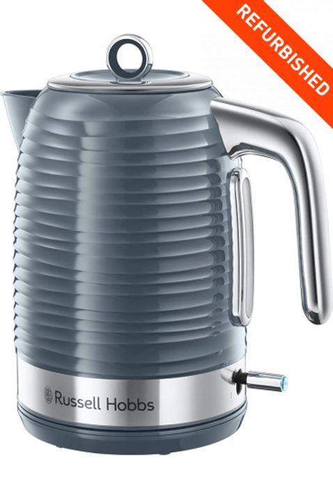 Russell Hobbs 24363 Inspire Jug Kettle Washable Limescale Filter 1.7l 3000w Grey