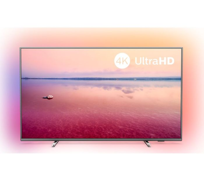 """*SAVE £100* PHILIPS Ambilight 55"""" Smart 4K Ultra HD HDR LED TV"""