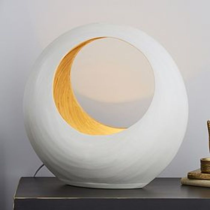 Bamboo Oval Table Lamp HALF PRICE