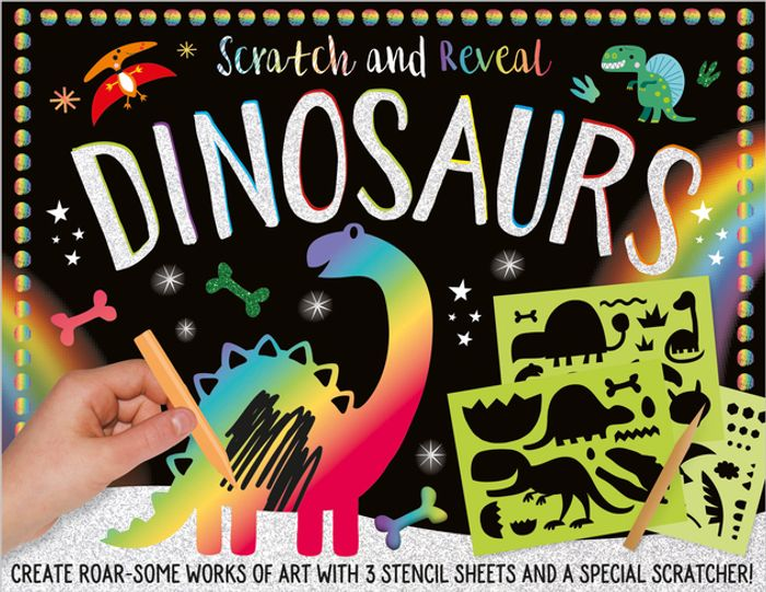 Scratch and Reveal Dinosaurs - Only £5!