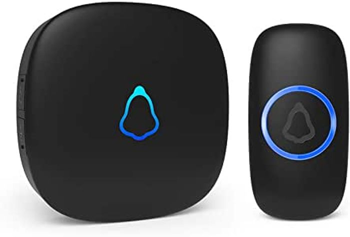 Wireless Doorbell, Plug in Waterproo at Amazon