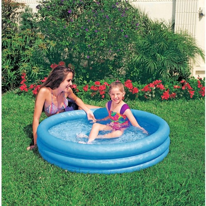 Cheap Intex Blue Crystal Pool - Only £4.99!