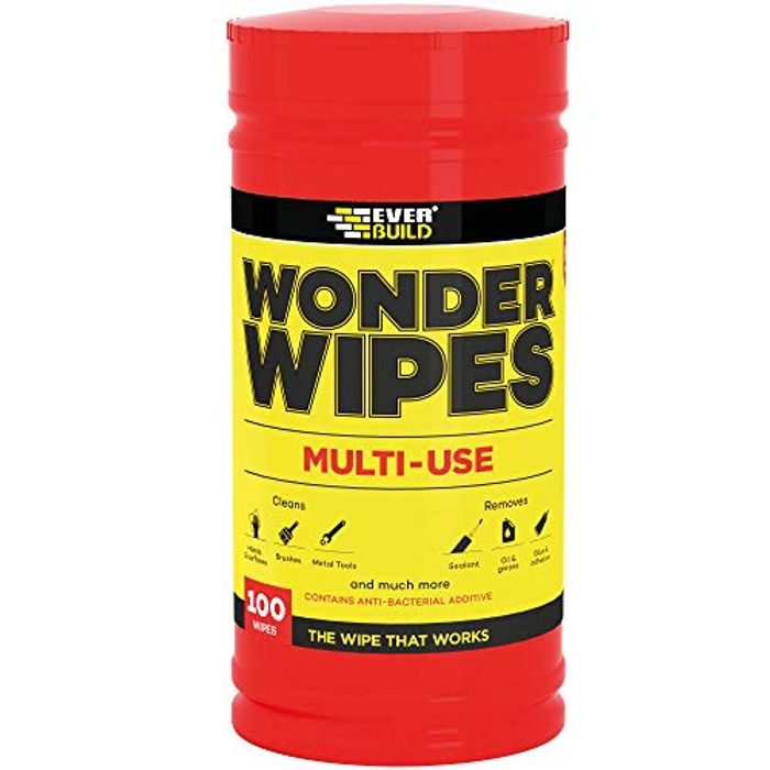 Wonder Wipes Multi-Use Cleaning Wipes, 100 Wipes (FREE DELIVERY WITH PRIME)
