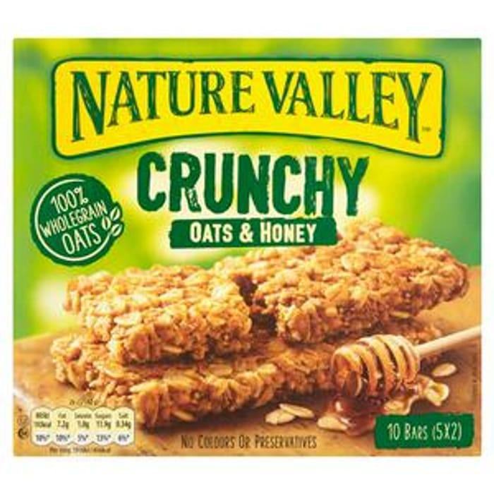 Nature Valley Crunchy Oats & Honey Granola Bars 5x42g