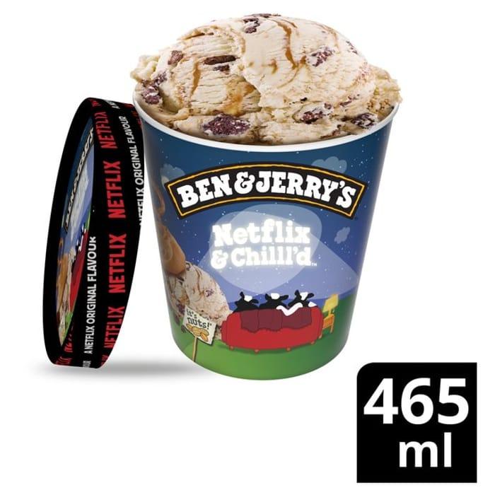 Ben & Jerry's 465ml All Flavours (See Description)