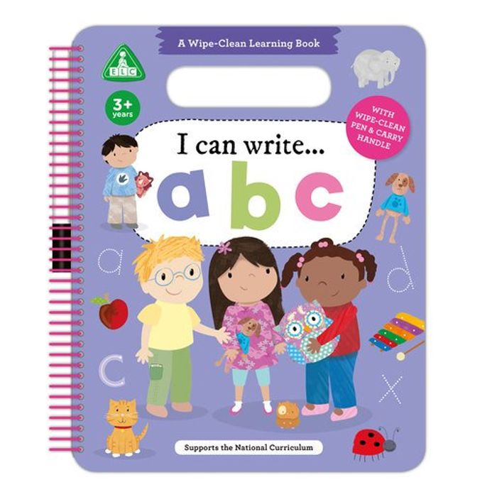 Cheap I Can Write ABC Learning Books Only £2.99!