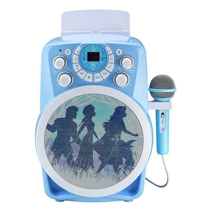 Disney Frozen 2 Large Karaoke Machine on Sale From £70 to £35