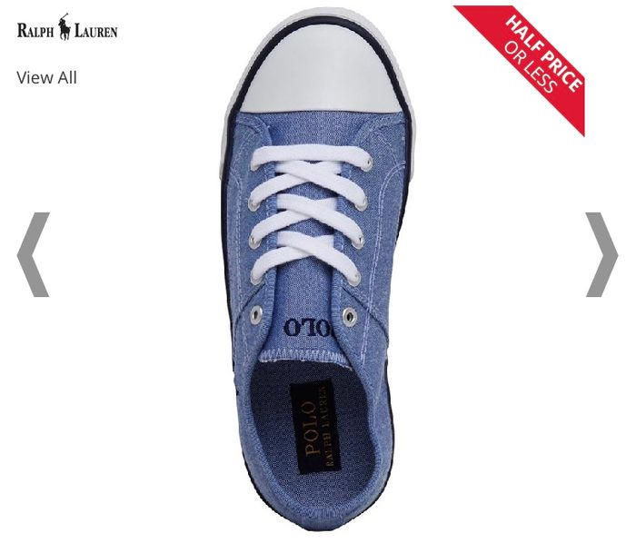 Junior Ralph Lauren Shoes