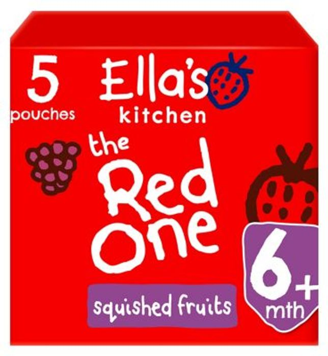 2 for £6 on Selected Ella's Kitchen Fruit Pouch Packs