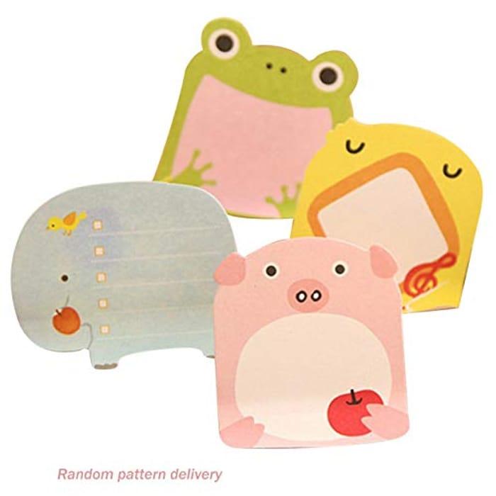 Creative Cartoon Animal Practical Sticky Post
