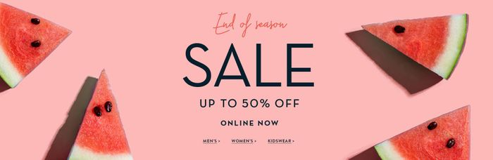 SALE up to 50% off   Online Now