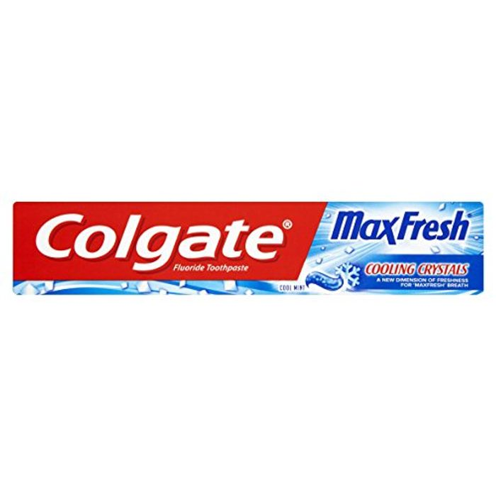 Cheap Colgate Max Fresh Cooling Crystals Toothpaste, 75 Ml Only £1.95!