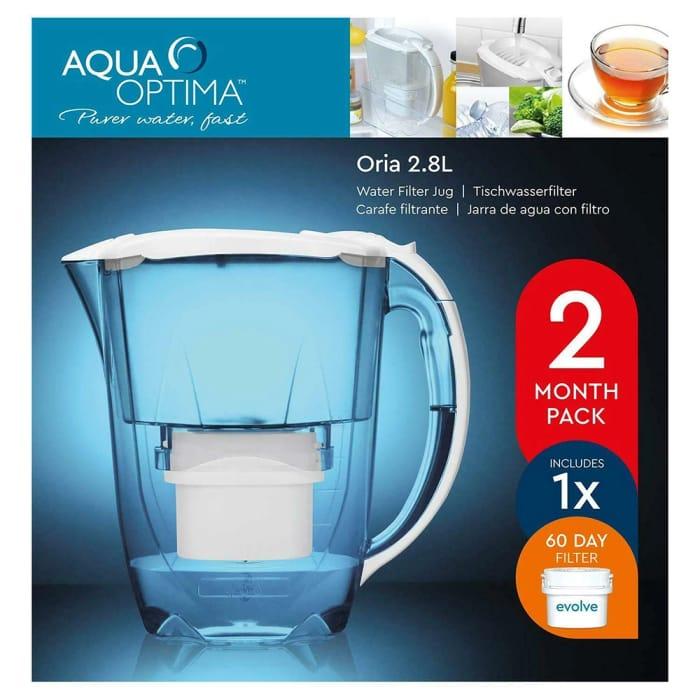 Aqua Optima Oria 2.8L Water Filter Jug