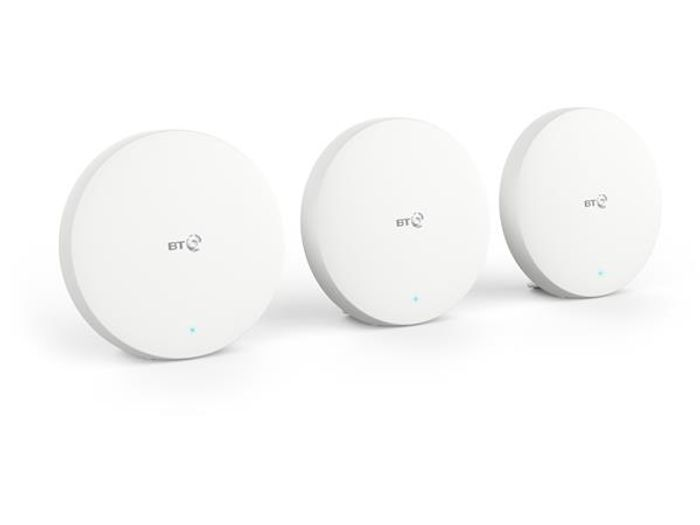 BT Mini Whole Home Wi-Fi - Three Discs