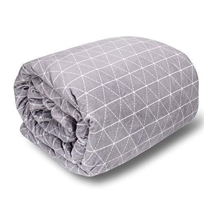 """DEAL STACK - Adult Weighted Blanket & Cover Set (80""""x86"""") King Size"""