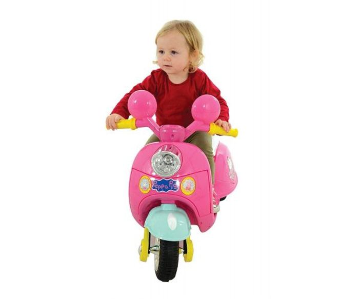 Peppa Pig 6V Battery Operated Motorbike Ride On £10 discount code