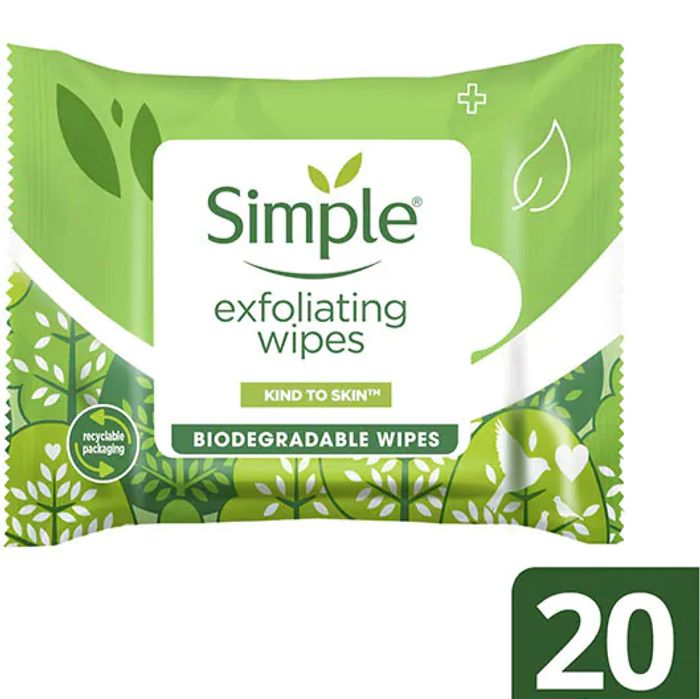 Deal Stack - 4 Packs Simple Face Wipes For Less Than Original Price of 1!