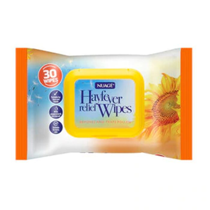 Nuage Hayfever Relief Wipes 30 Pack Only £0.99