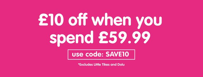 Save £10 When You Spend £59.99