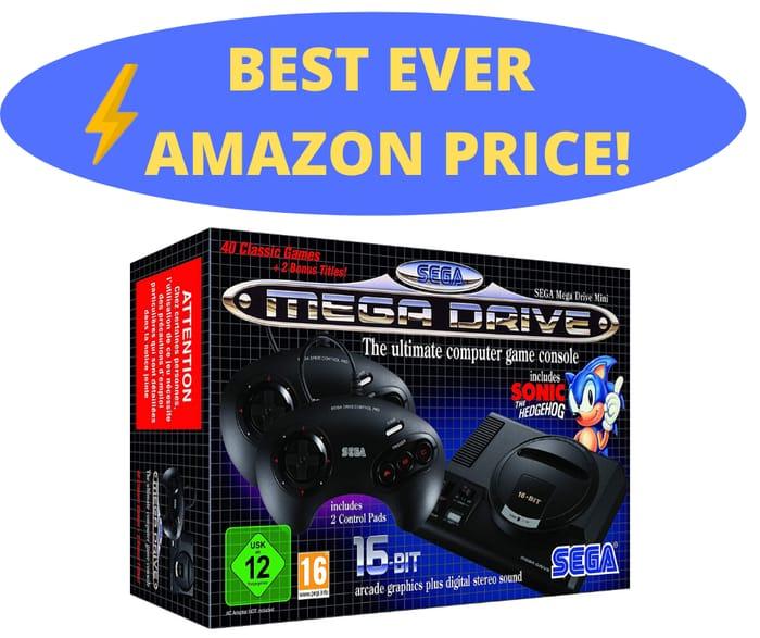 Best Ever Price! SEGA Mega Drive Mini