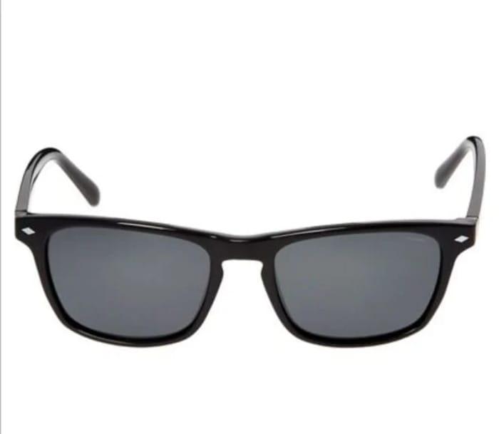 FOSSIL Black Rectangular Sunglasses