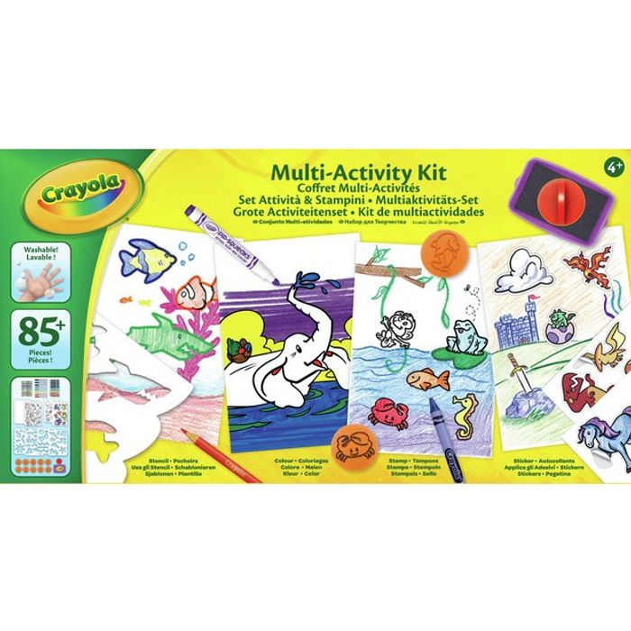 Crayola Deluxe Activity Kit on Sale From £15 to £7.5