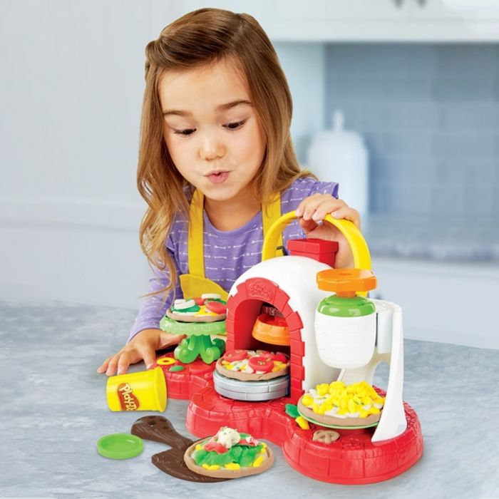 Play-Doh Kitchen Creations Stamp 'N' Top Pizza Oven