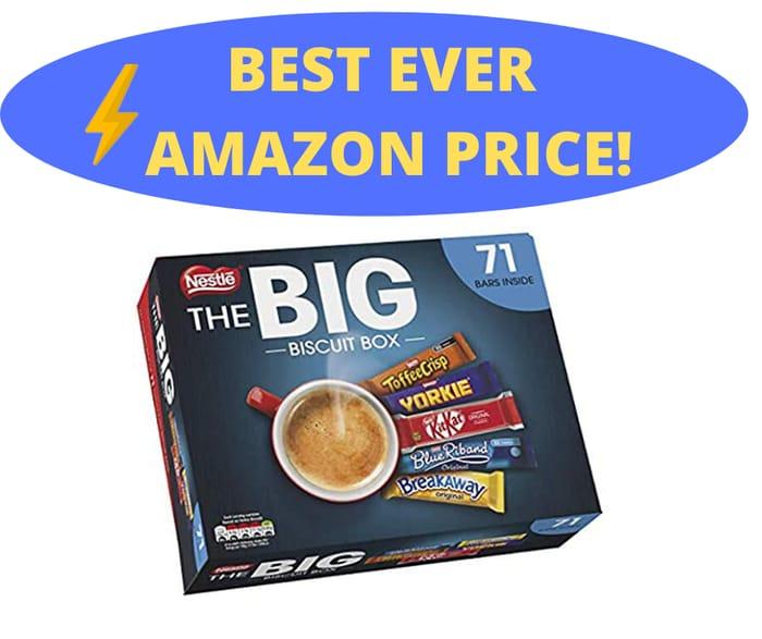 Best Ever Price! Nestl the Big Biscuit Box 71 Chocolate Biscuit Bars