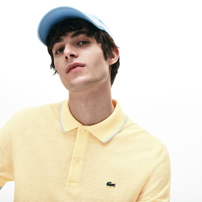 Cheap Men's Lacoste Regular Fit Texturized Caviar Piqu Polo Shirt Only £60