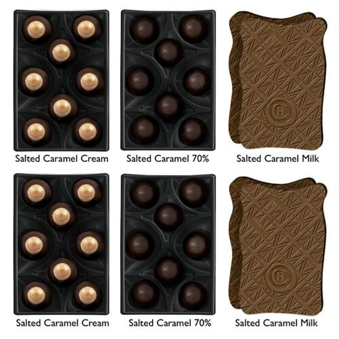 The All about the Caramel Collection.