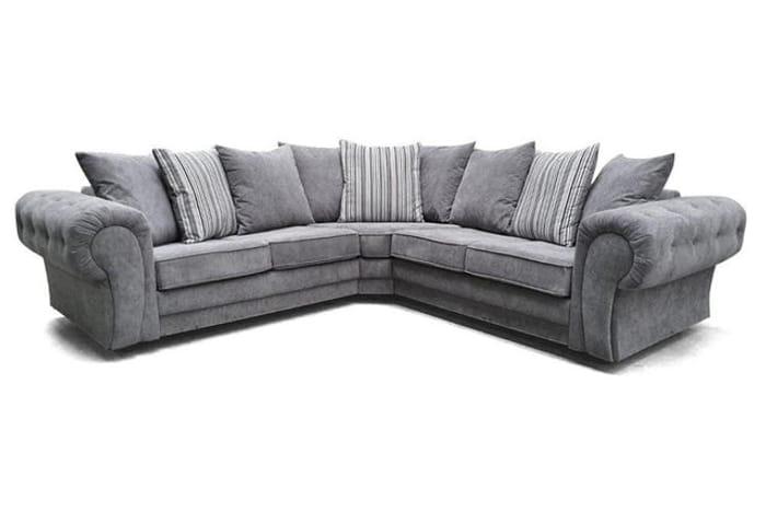 *SAVE £110* Fabric Corner Sofa