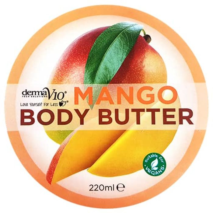 Derma V10 Mango Body Butter 220ml