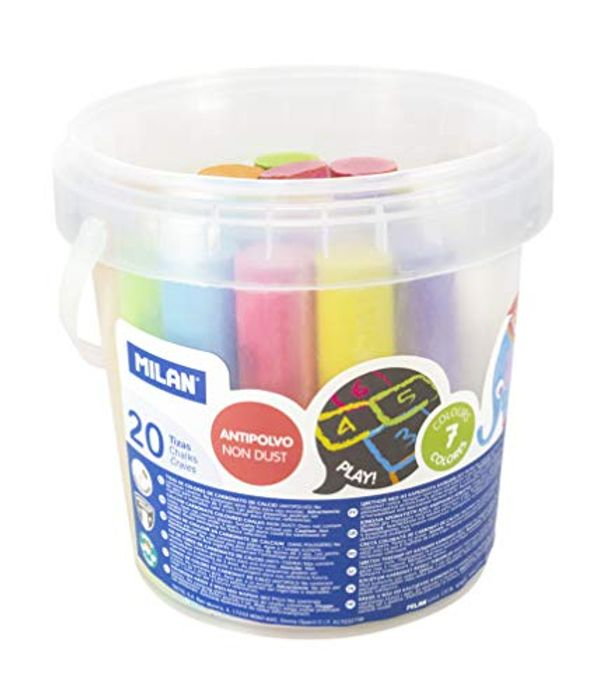 Milan 247120 Pack of 20 Chalk at Amazon