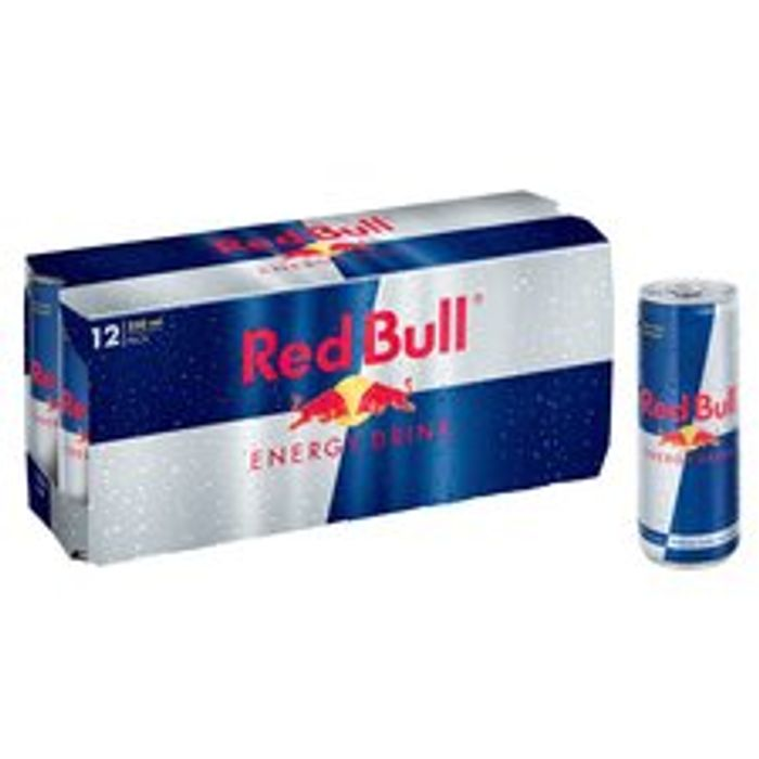 Red Bull Energy Drink 12 X 250Ml - Only £9.5!
