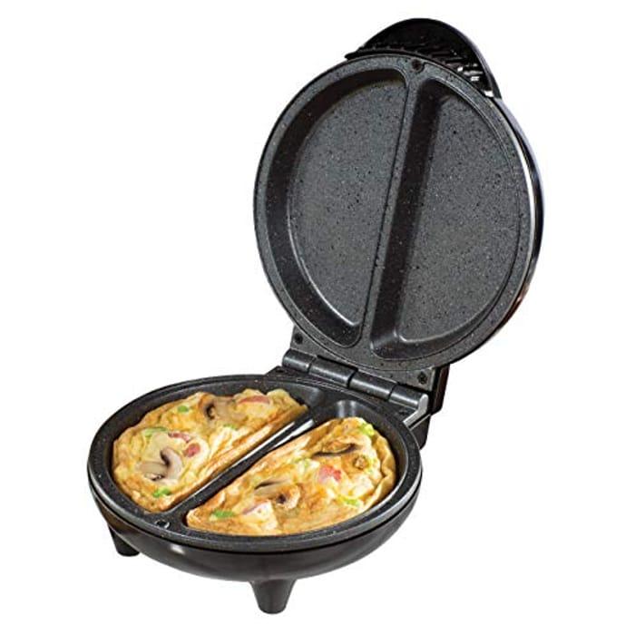 Daewoo SDA1556 750W Deep Fill Non-Stick Omelette Maker