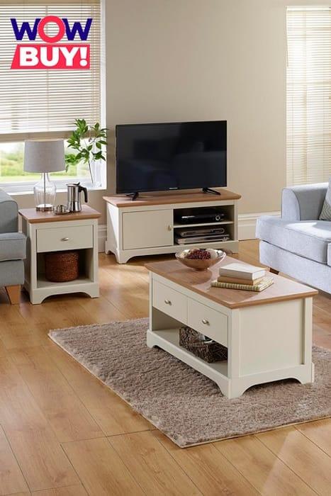 3 Piece Camberly Furniture Set - Oak Effect - Save £30