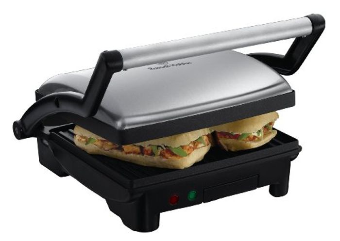 *SAVE 30%* Russell Hobbs 3-in-1 Panini Press, Grill and Griddle