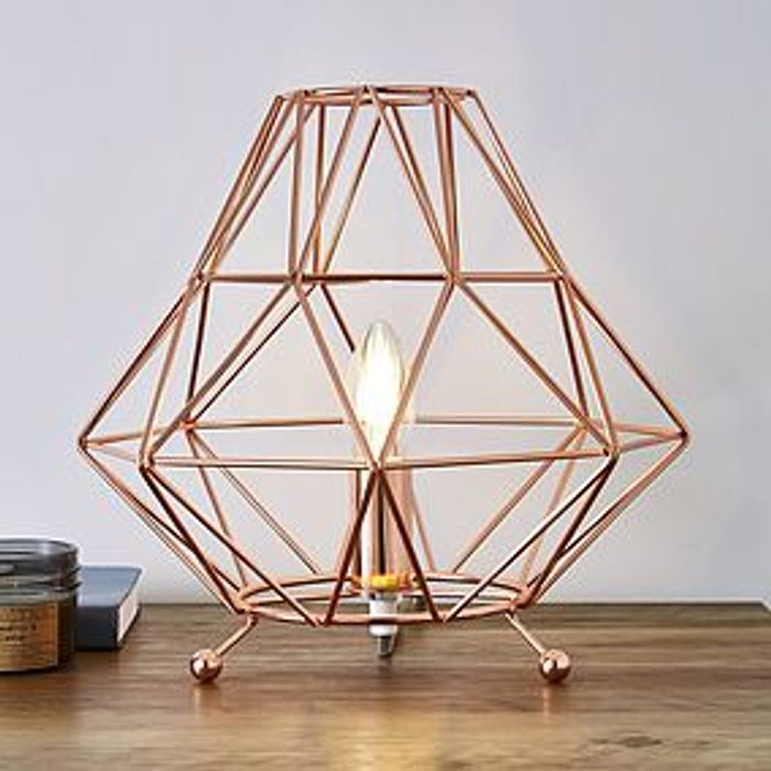 Copper Table Lamp HALF PRICE