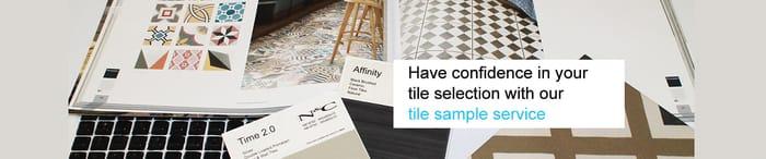 3 Free 10x10cm Cut Size Tile Samples