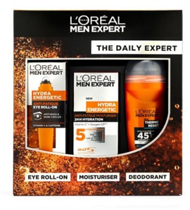L'Oreal Men Expert the Daily Expert Gift Set HALF PRICE