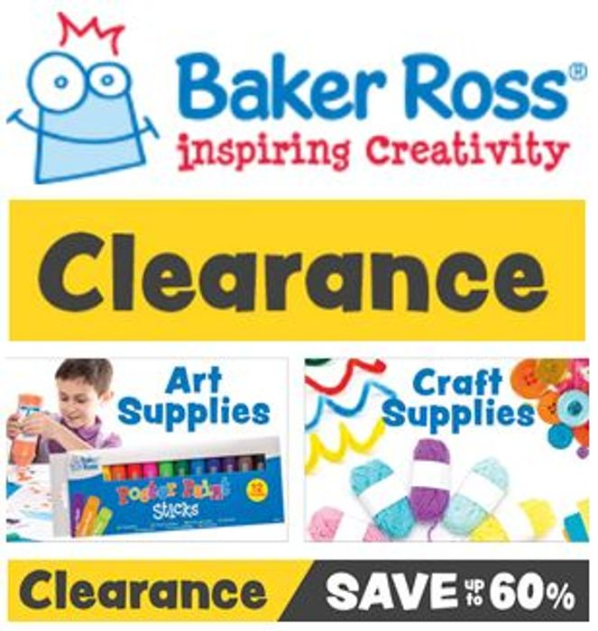 Arts & Crafts - CLEARANCE DEALS - at Baker Ross
