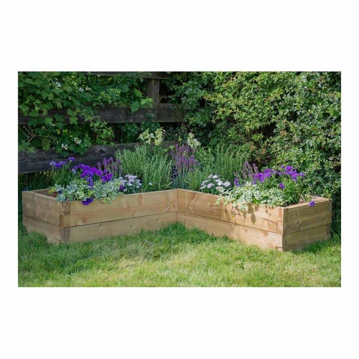 Forest Garden Caledonian Corner Raised Bed